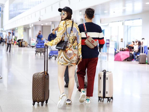 Chỉ mới ra sân bay đến Milan mà Hoa hậu Kỳ Duyên đã dát 900 triệu tiền hàng hiệu lên người! - Ảnh 8.